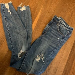 Gently worn American eagle jegging jeans